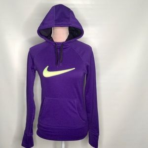 Nike Therma-Fit running hoodie fleece top.